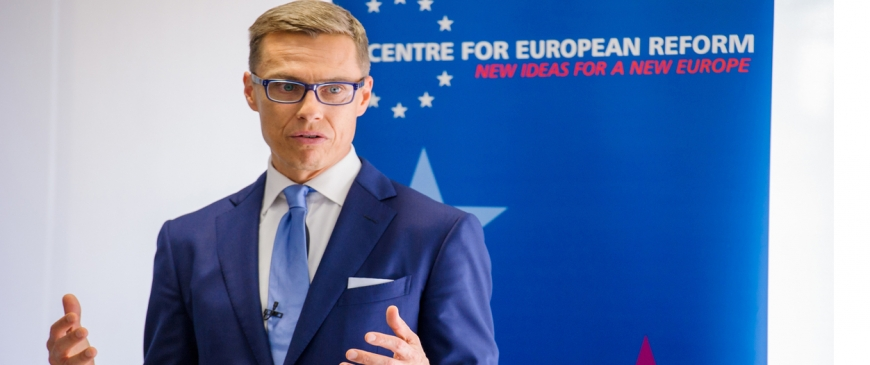 Finnish Prime Minister calls for 'more Europe' on energy and climate policy
