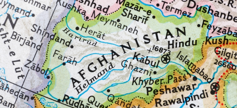 The power balance in Afghanistan