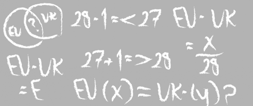The Brexit equation: EU minus UK = ?