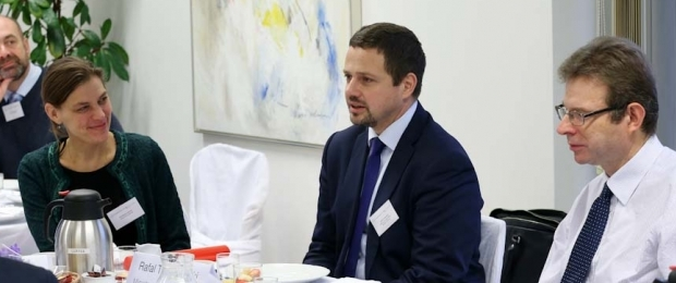 Breakfast on 'Poland and the new institutional setup: Challenges and opportuniti