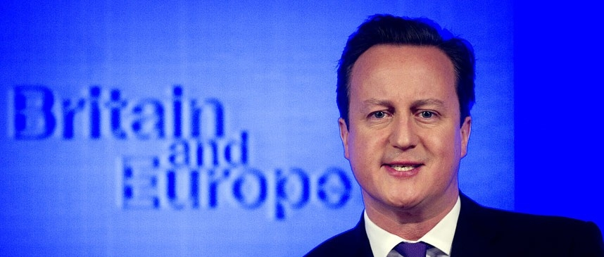 Cameron's optimistic, risky and ambiguous strategy