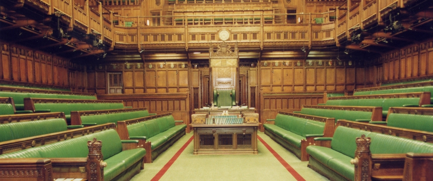 Houses Of Parliament Interior. Not in front of the MPs  Why can t Parliament have a frank discussion about EU