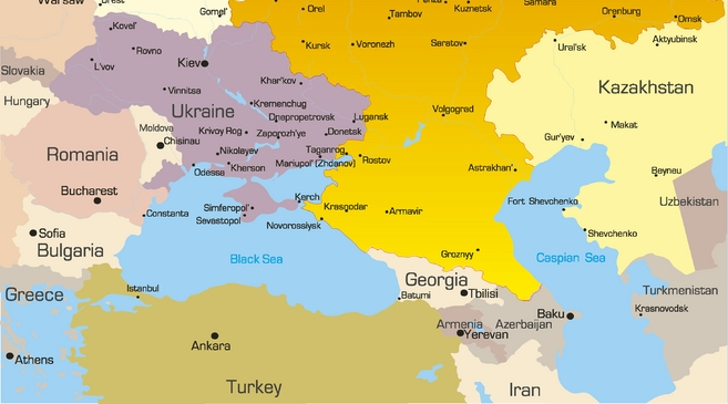 Map Of Turkey And Russia Turkey And Russia Map | autobedrijfmaatje