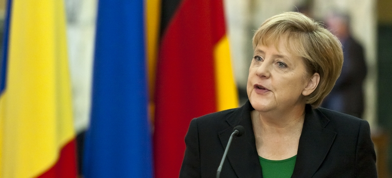 Can Angela Merkel talk Cameron into being a more flexible ally? spotlight image