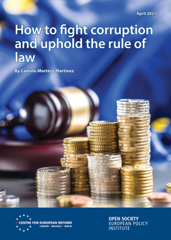 Launch of 'How to fight corruption and uphold the rule of law' with Katalin Cseh, Carl Dolan, Camino Mortera-Martinez and Michiel van Hulten