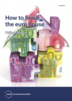 London launch of CER report 'How to finish the euro house' by Philippe Legrain event thumbnail