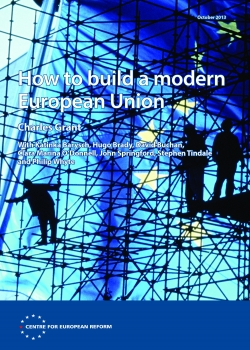 CER launch of 'How to build a modern European Union' event thumbnail