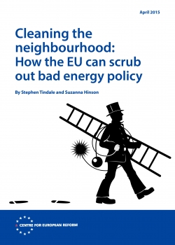 London launch of CER policy brief 'Cleaning the neighbourhood: How the EU can scrub out bad energy policy' event thumbnail
