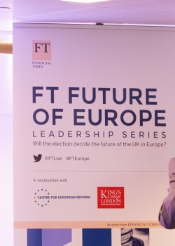 FT Future of Europe Leadership Series: Two-speed Europe: What does eurozone integration mean for the UK? event thumbnail