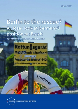 Berlin to the rescue? A closer look at Germany's position on Brexit