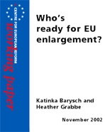 Who's ready for EU enlargement?