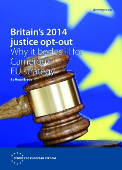 Britain's 2014 justice opt-out