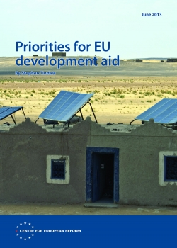 Priorities for EU development aid