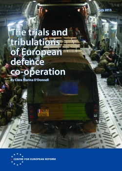 The trials and tribulations of European defence co-operation