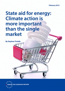 State aid for energy: Climate action is more important than the single market
