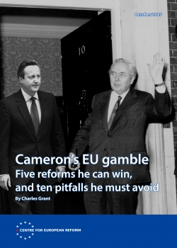 Cameron's EU gamble: Five reforms he can win, and ten pitfalls he must avoid